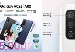 Samsung Galaxy A02s និង Galaxy A02 ទាំងកាមេរ៉ា…ទាំងកម្លាំងថ្ម…ទាំងអេក្រង់…និងទាំងតម្លៃ…អស្ចារ្យម៉ាចប់ម៉ង…កប់ស៊េរី…!