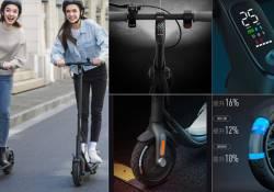 Ninebot F25 ដែលជា Electric Scooter ស៊េរីថ្មីសាកថ្មពេញម្តងអាចធ្វើដំនើរបាន 20km ចេញលក់នៅចិនហើយ មានតម្លៃជាង 2 រយដុល្លារ
