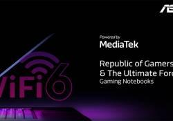 ASUS Republic of Gamers សហការជាមួយ MediaTek នាំយកបច្ចេកវិទ្យា Wi-Fi 6 Solution មកបំពាក់លើម៉ាស៊ីនកុំព្យូទ័រហ្គេមីង ROG ស៊េរីថ្មីៗរបស់ខ្លួន
