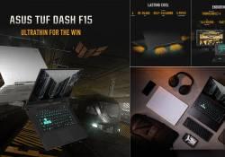 TUF Dash គឺជាឡេបថប Gaming ស៊េរី 2021 របស់ក្រុមហ៊ុន ASUS ដែលមានរូបរាងតូច និងមានកម្រ៉ាស់ស្តើង ប៉ុន្តែសមត្ថភាពពិតជាខ្លាំងមិនធម្មតានោះទេ