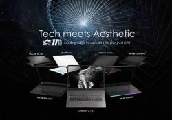 """ក្រុមហ៊ុន MSI បាននាំមកនូវកុំព្យូទ័រយួរដៃជំនាន់ថ្មីៗ និងមានសមត្ថភាពខ្ពស់ជាច្រើនម៉ូដែលនៅក្នុងព្រឹត្តិការណ៏ """"Tech Meets Aesthetic"""""""