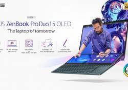 កុំព្យូទ័រយួរដៃជំនាន់ថ្មី Asus ZenBook Pro Duo 15 OLED (UX582) ដែលបង្ហាញខ្លួននៅក្នុងព្រឹត្តិការណ៍ CES 2021 មានវត្តមាននៅក្នុងប្រទេសកម្ពុជាហើយ